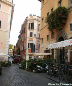 A Trastevere street