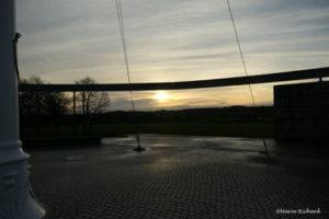 Sunrise at Bannockburn Memorial