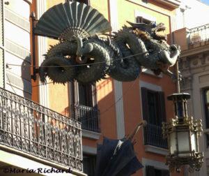 La Rambla dragon