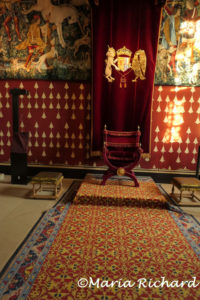 The queen's audience room